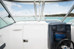 Boat Windscreen Interior