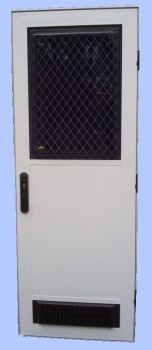 square top automotive door