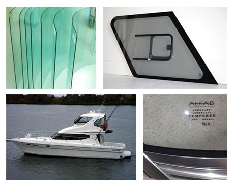 boat toughened glass