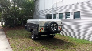 Closed Camper Trailer