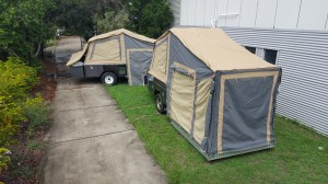 Custom Designed Camper Trailers