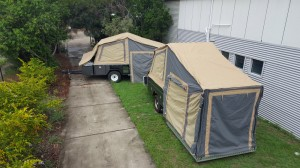 Custom Built Tent Trailers