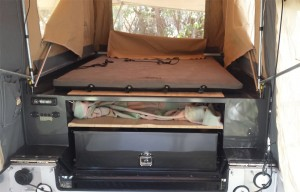 Custom Tent Trailer Interior