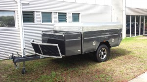 Custom Built Hard Floor Tent Trailer