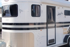 Horse Float Windos & Door