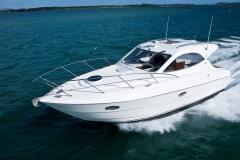 Curved Boat Windscreen