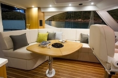 Curved Boat Windows