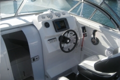 Run Around Boat Windscreen