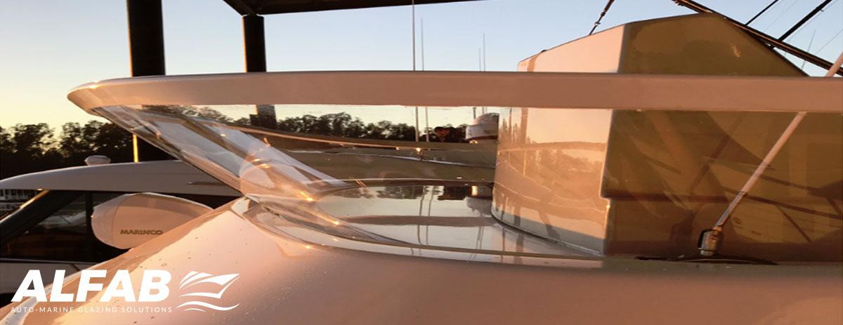advanced boat deflector screen