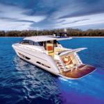 Maritimo X60 Boat cruising the water
