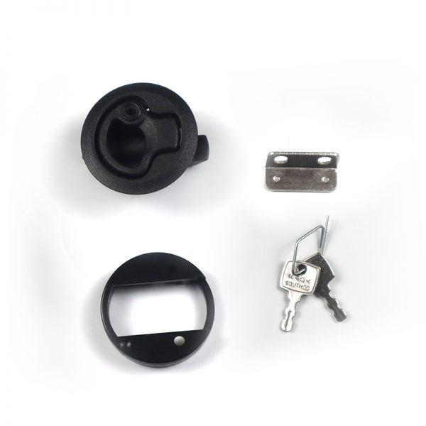 Cupboard Door Latch with Lock