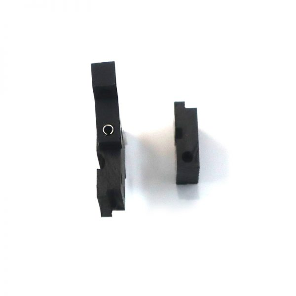 Swing Pivot Black Hinges Set 1000 Series