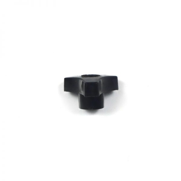 SWINGBOLT/KEEPER - BLACK KNOB