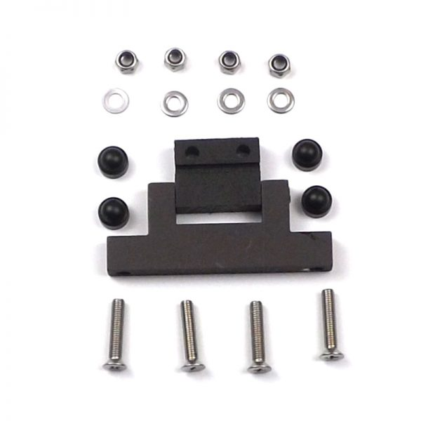 Swing Pivot Black Hinges Set 500 Series
