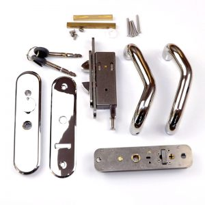 Claw Backset for Star Lock Sliding Door Stainless Steel