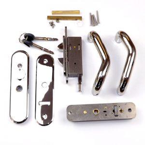Claw Backset for Star Lock Sliding Door Stainless Steel