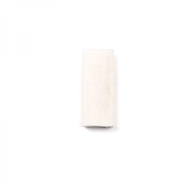 Sliding window track insert infill 1000 series white