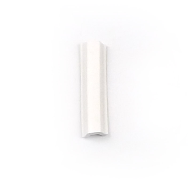 White Aluminium Frame Rubber Screw Cover Trim