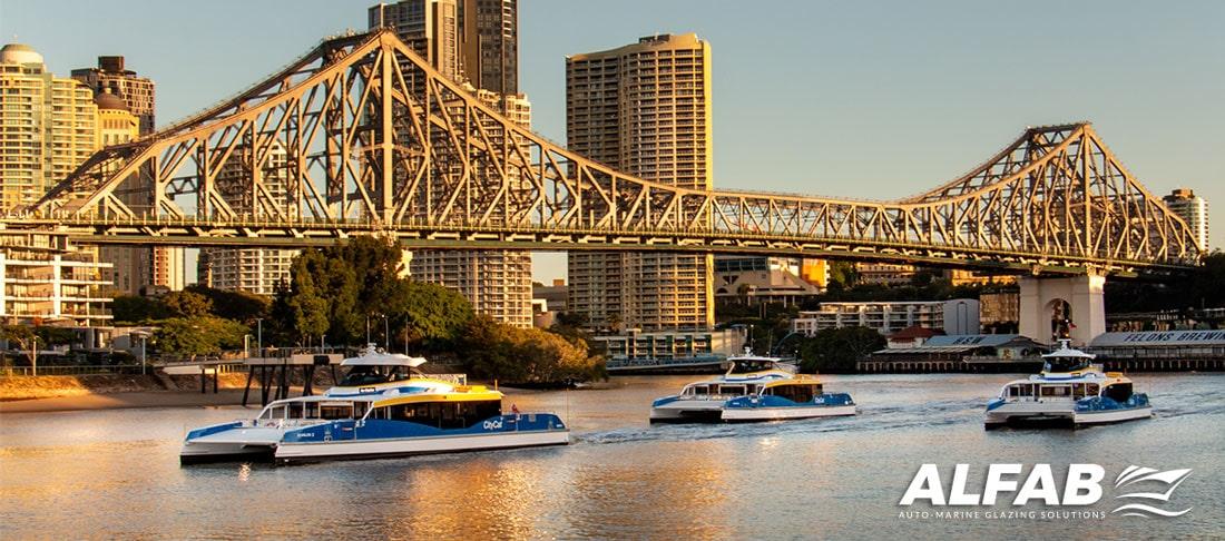 CityCat Yoogera Brisbane ferry fleet