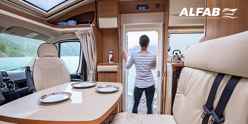 Windows and doors for RVs