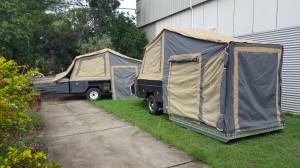 Custom Tent Trailers